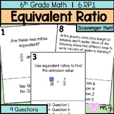 Equivalent Ratio Scavenger Hunt