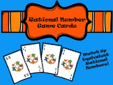 Equivalent Rational Numbers Game Cards
