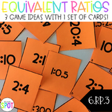 Equivalent Ratios 3 Activities in 1: CCSS 6.RP.3 Aligned**