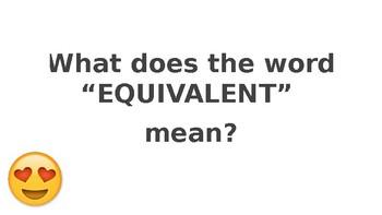 Equivalent Ratios