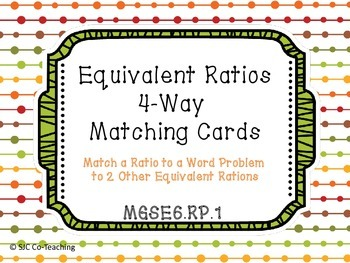 equivalent ratios matching