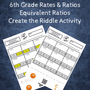 Equivalent Ratios Create the Riddle Activity