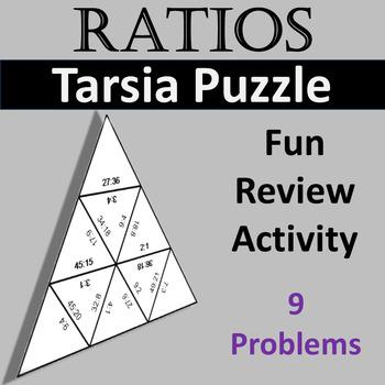 Equivalent Ratios Game: Math Tarsia Puzzle