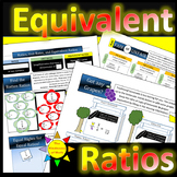 """Equivalent Ratios - Humorous """"Got Any Grapes?"""", Play Fair or Unfair, and more!"""