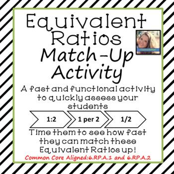 Equivalent Ratios: Match-Up Activity