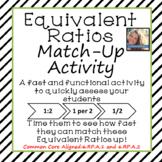 Equivalent Ratios Match Up Activity
