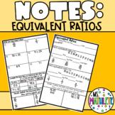 Equivalent Ratios Notes