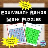 Equivalent Ratios Puzzles