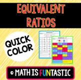 Equivalent Ratios Quick Color