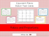 Equivalent Ratios Station Task Cards