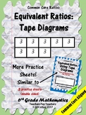 Equivalent Ratios: Using Tape Diagrams Practice
