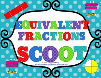 Equivalent Fractions Scoot