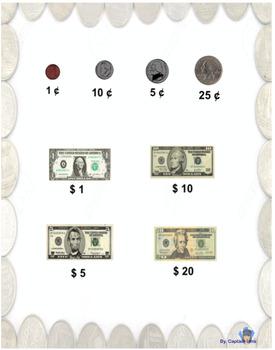 Equivalent amounts of money