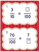 Equivalent and Adding Fractions Denominators 10 and 100 Ta