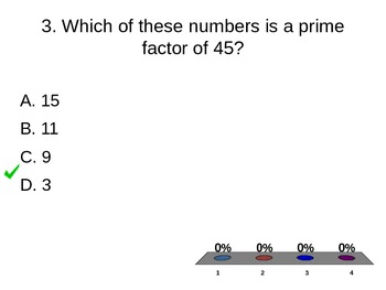 Equivalent and Comparing Fractions, Prime/ Composite Turning Point Presentation