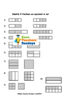 Equivalent Fractions Worksheets (4 levels of difficulty)