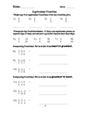 Equivalent/Comparing Fractions
