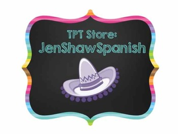 Er/ Ir Spanish Verb Conjugation Chart & Translation Activities