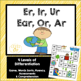 Er, Ir, Ur, Ear, Ar, Or Game and Word Sort