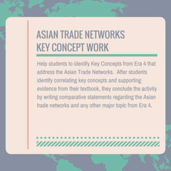 Era 4 Asian Trade Networks Key Concepts Work
