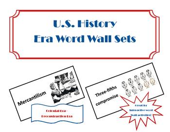 Era Word Wall Sets