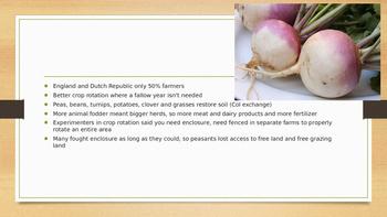 Era of Expansion & Agricultural Rev PPT for AP Euro