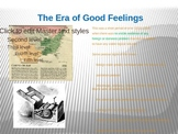 Era of Good Feelings Power Point