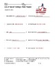 Era of Good Feelings Word Search and Printable Vocabulary Worksheets