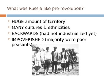 Era of Revolution in Russia
