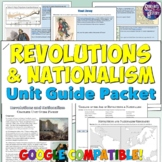 Era of Revolutions and Nationalism Study Guide and Unit Packet
