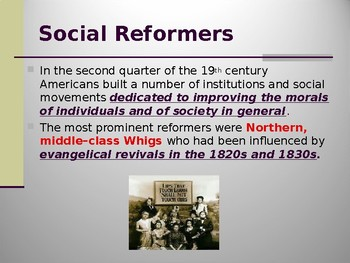 Era of Social Reform