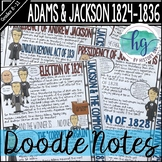 Era of the Common Man and Andrew Jackson Doodle Notes