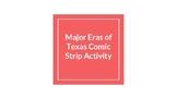 Eras of Texas Comic Strip Activity