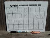 Erasable Handwriting Alphabet Mat / Mrmikesmusicmats