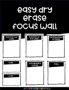 Erasable Interactive Focus Wall