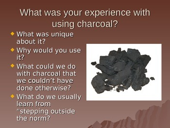 Erase Out Charcoal Drawing Step By Step and Focusing on Texture