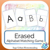 Erased Alphabet Matching Game with Handwriting Practice