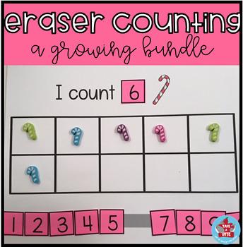 Eraser Counting-a growing bundle