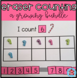 Eraser Counting-a growing bundle