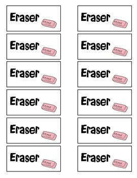 Eraser Coupon