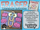 Eraser Literature Activities