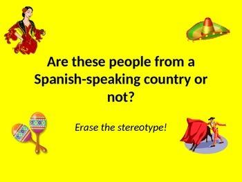 Erasing Stereotypes: Who speaks Spanish?