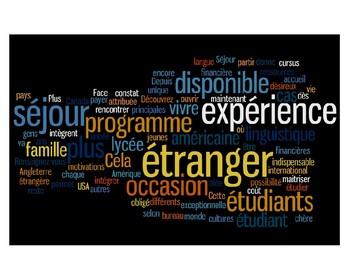 Erasmus pen-pal letter activity (French)