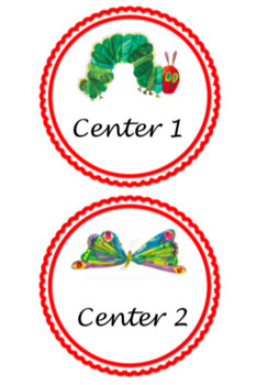 Eric Carle character centers