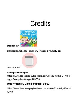 Eric Carle Author Project Based Learning PBL Study Unit