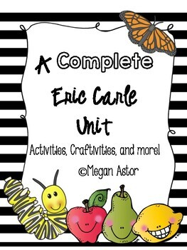 Eric Carle {A complete Author Study}