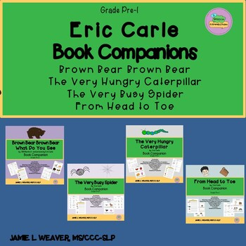 Eric Carle Activities Book Companions