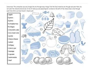 Eric Carle Activity Packet
