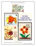 Eric Carle Art Lessons 3 Lesson Bundle Fish Spider Seed Pr