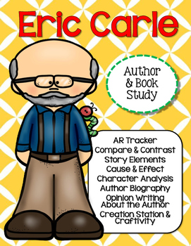 Eric Carle Author & Book Study {CCSS}
